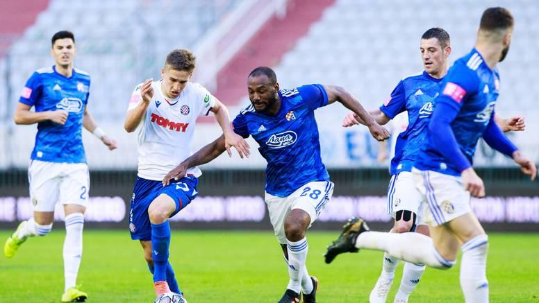 Ništa od Dinamovog 'pokera', Hajduku bod za nadu u Europu
