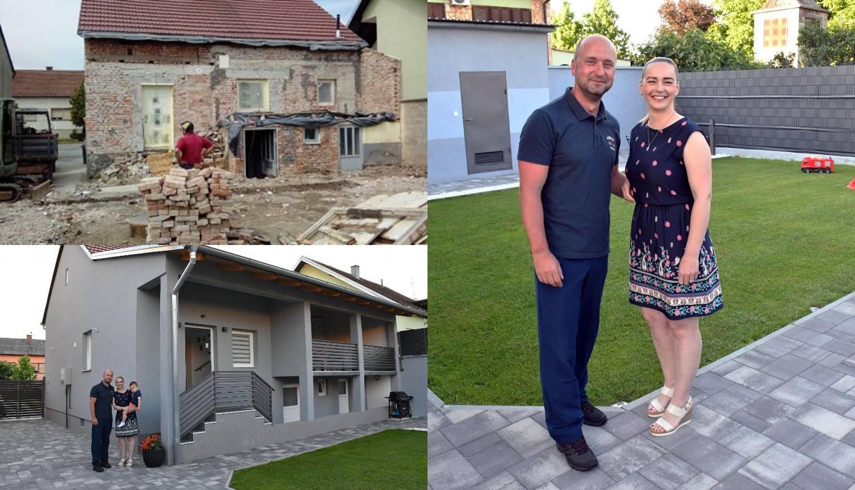 Ivana i Alen obnovili kuću staru 80 godina: Noću smo planirali, a po danu gradili - i to sve sami