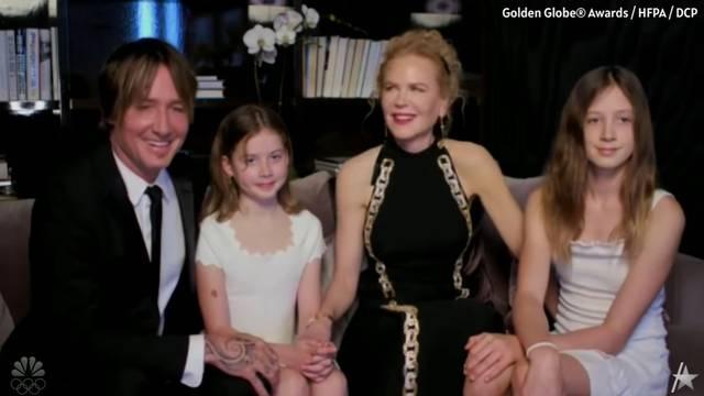 Nicole Kidman je iznenadila: U emisiju se javila iz kauča, a svu pažnju privukle su njezine kćeri