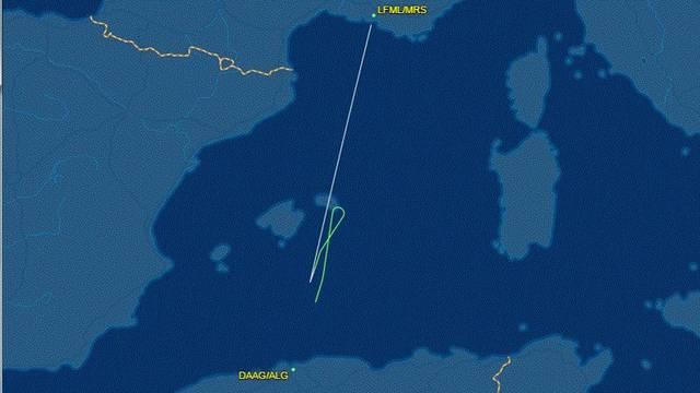 Avion nestao s radara sigurno sletio na aerodrom u Alžiru