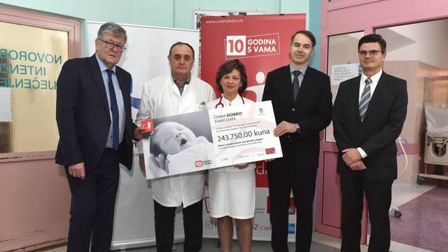 PBZ Grupa donirala 243.750 kuna Klinici za ženske bolesti