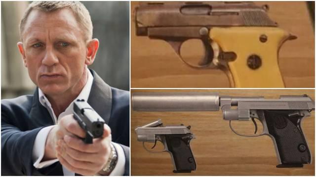 Nestali pištolji iz filma 'James Bond': Vrijede oko 800 tis. kn