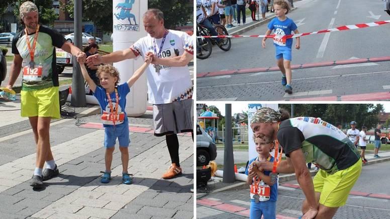 Tek mu je šest, a već je istrčao polumaraton! 'Ma mogu i brže'