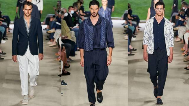 Giorgio Armani je kralj tamno plavih odijela i divne elegancije