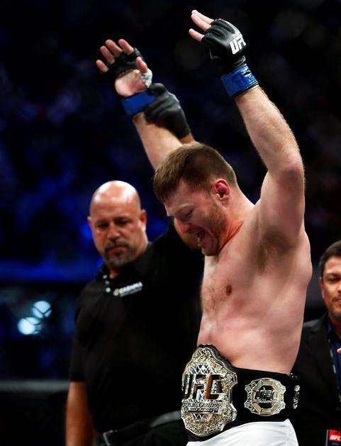Kako udara Stipe! Nokautira već 8 godina, UFC se sjetio početaka