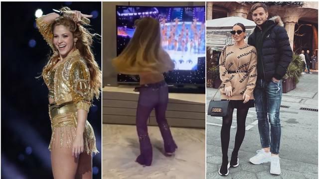 Rakitićeva kći plesom oduševila Shakiru: 'Zar nije preslatka?'