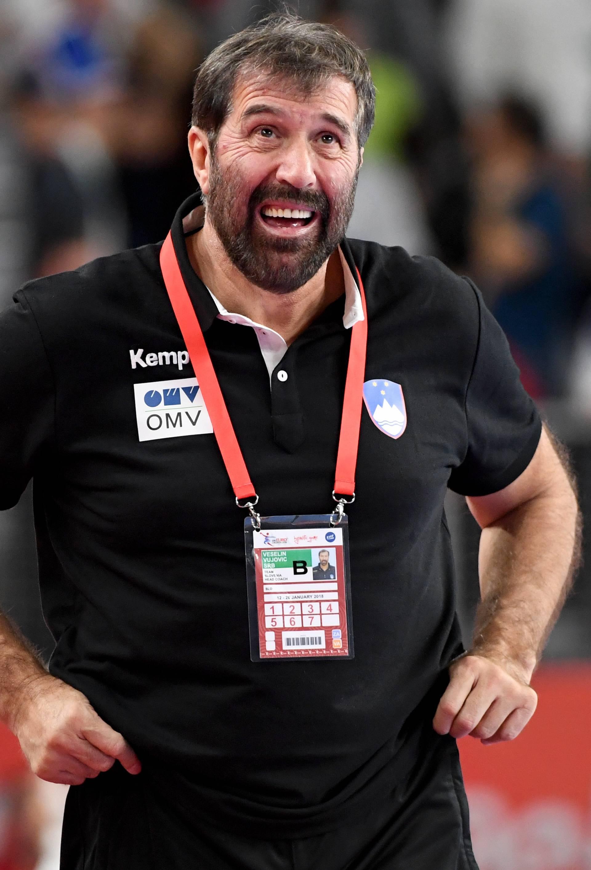 European Handball Championship: Slovenia vs Denmark