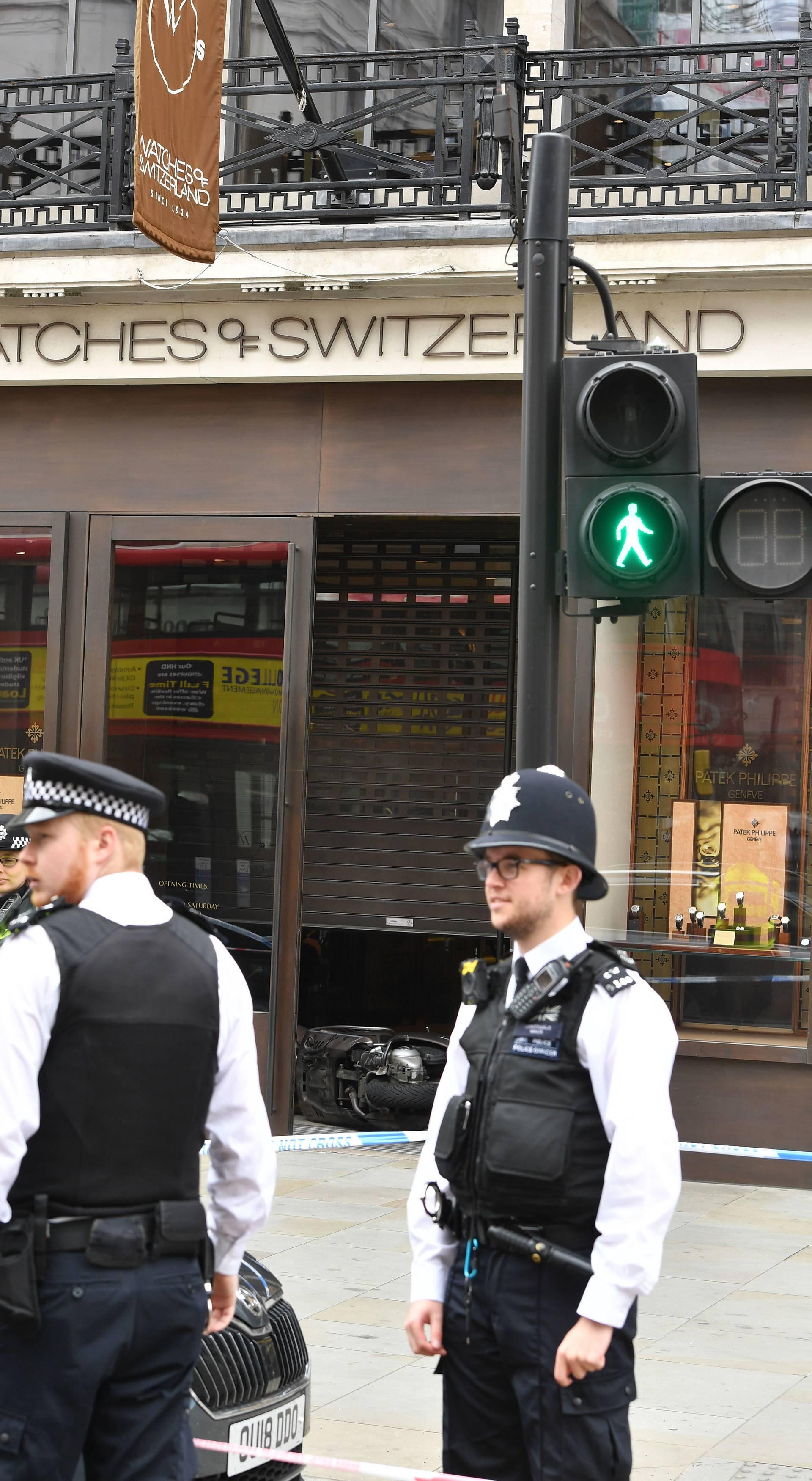 Regent Street robbery