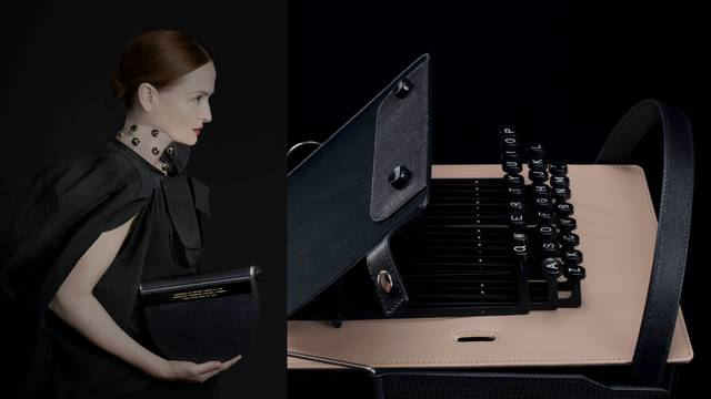 Talijansko-hrvatska dizajnerica za torbice izgleda pisaće mašine dobila prestižnu nagradu