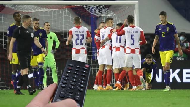 Evo gdje gledati Hrvatsku protiv Švedske  za ostanak u Ligi nacija