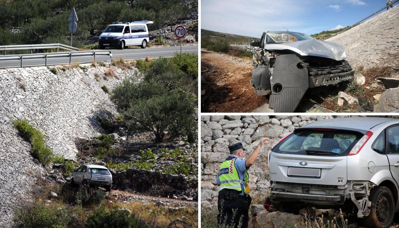 'Udario je u stijenu, odbio se od nje i 'letio' u zraku. Završio je u provaliji': Vozač lakše ozlijeđen