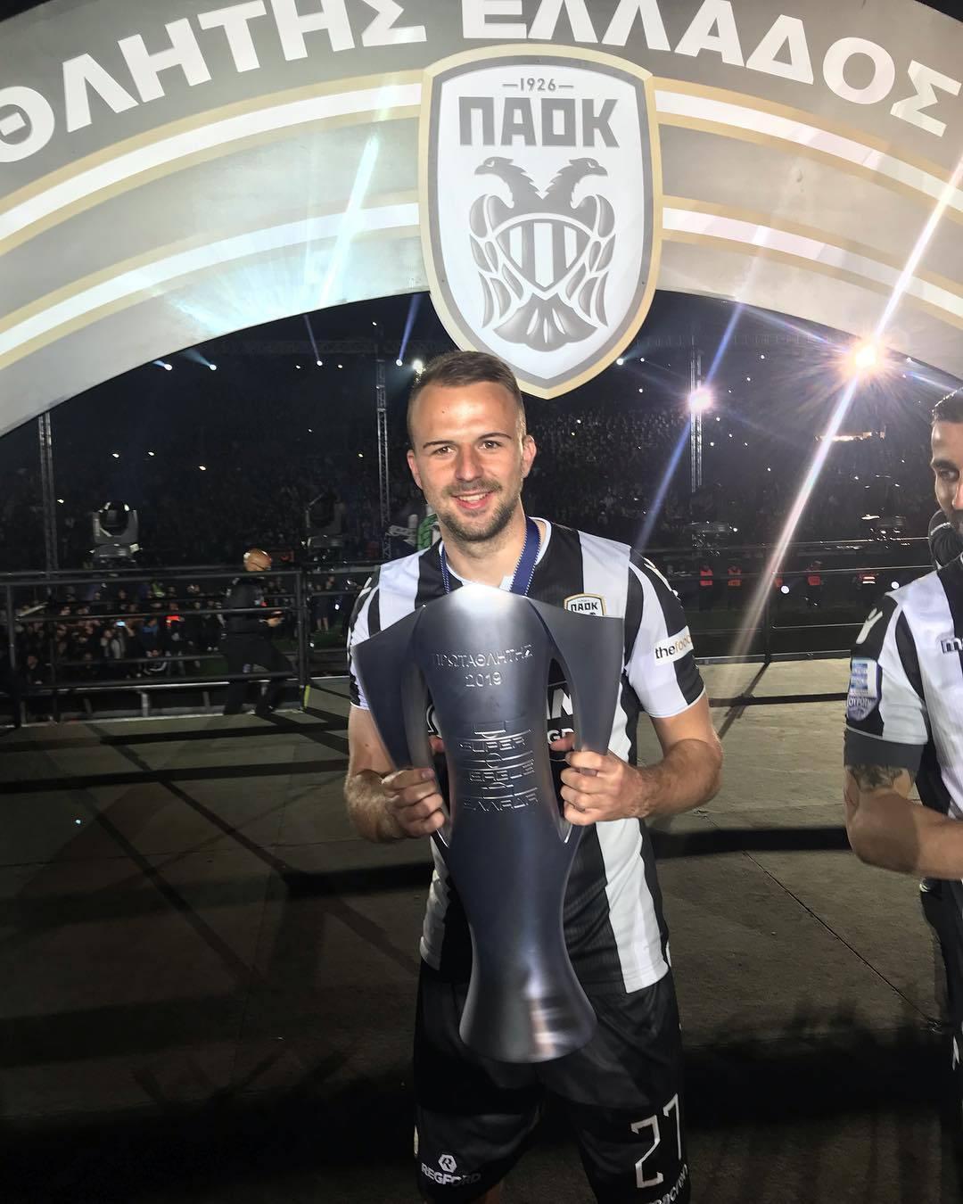 Hrvat Mišić je 'kralj' Soluna: Izabran u momčad desetljeća