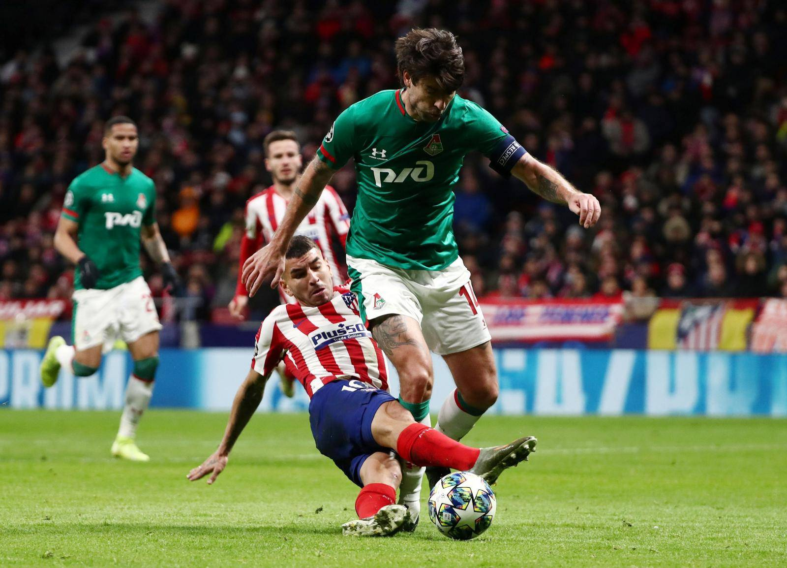 Champions League - Group D - Atletico Madrid v Lokomotiv Moscow