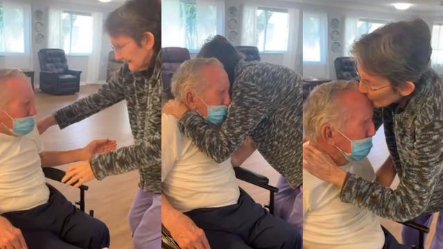 Napokon zajedno: Nakon 60 godina braka, 215 dana bili su razdvojeni zbog pandemije