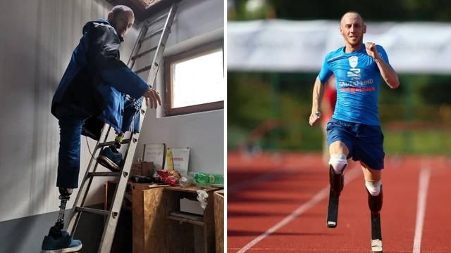 Hrabri sportaš Toni: Nemam noge, ali znam kako pomoći onima kojima je najpotrebnije