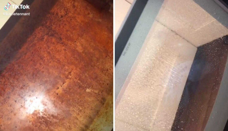 Pokazala trik za čišćenje pećnice - ali ljude je šokiralo stanje iste