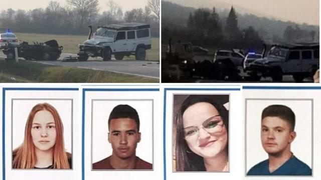 Zabio se u njihov auto, dok su umirali, on je zakopavao oružje