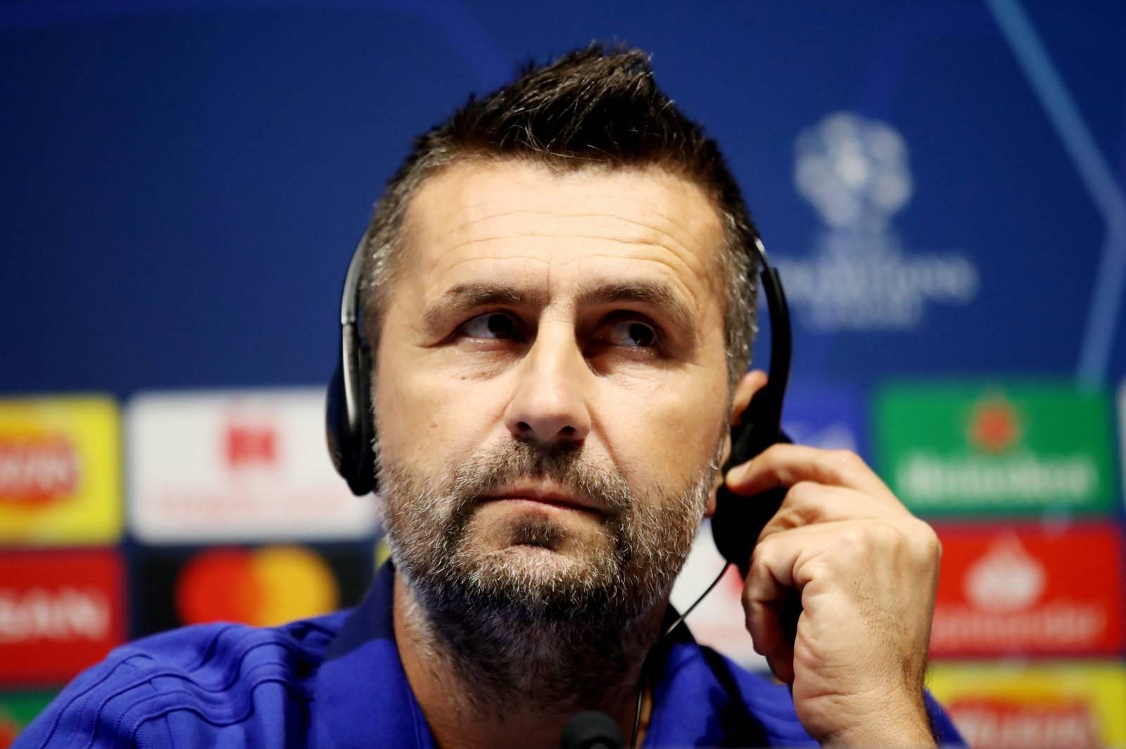 Champions League - Dinamo Zagreb Press Conference