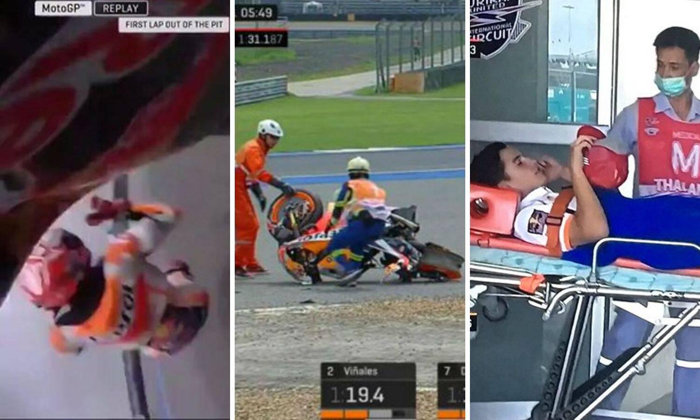 Stravičan pad Marca Marqueza, ali na stazu će već za vikend...