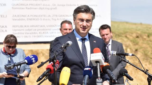 "Svetil Ilija: Andrej Plenković na otvorenju početka radova nov PŠ ""Vladimir Nazor"""