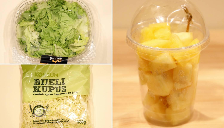 Kila 65 kuna: Narezana salata je skuplja pet puta od glavice