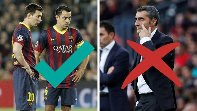 Gotovo! Valverde odlazi, novi trener Barcelone je veliki Xavi