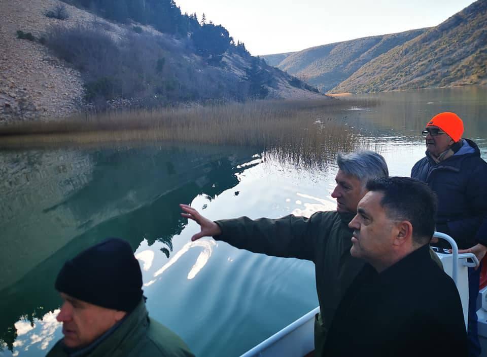 Prvi stupanj opasnosti od onečišćenja na rijeci Zrmanji