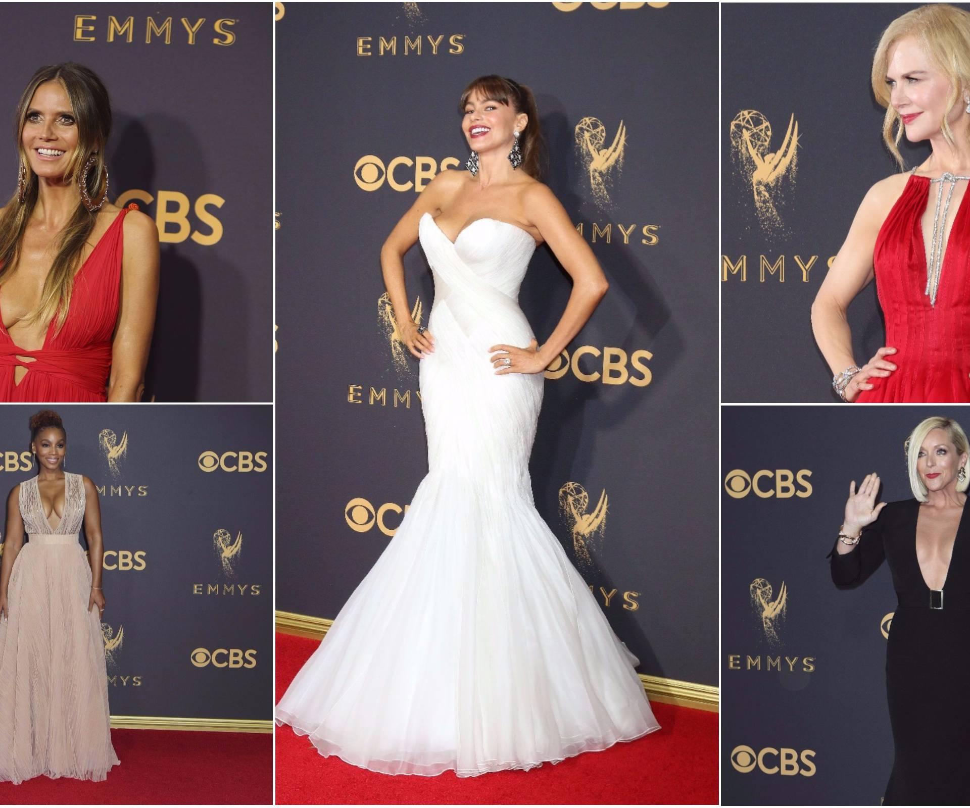 Ljepotice dekolteima zasjenile 69. dodjelu TV nagrada Emmy