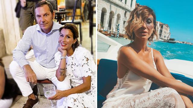 Ana Gruica sa suprugom otišla u Italiju: 'On je zaslužio godišnji, ja ne. Ja sam ženica u pratnji'