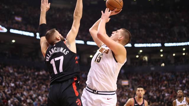NBA: Denver Nuggets at Toronto Raptors