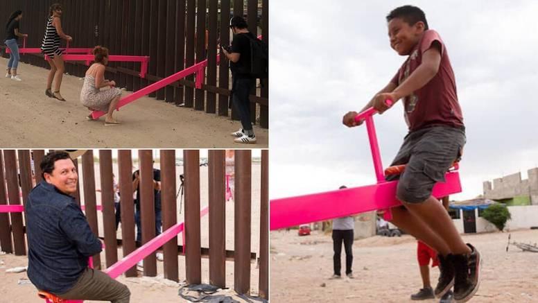 Klackalicama uredili Trumpov zid: 'Sad je simbol zajedništva'