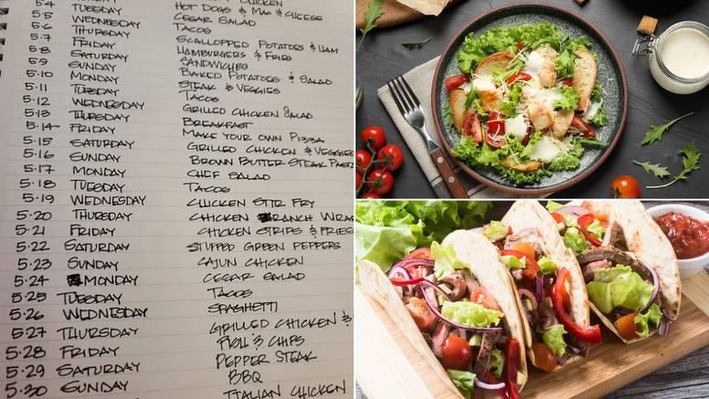 Plan obroka za svibanj oduševio sve mame: 'Ti si naš superheroj!