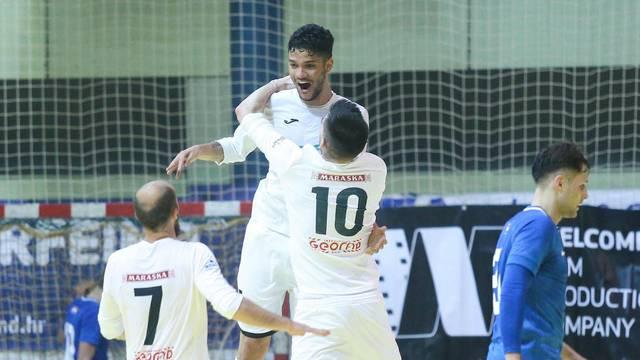 Zagreb: 1.HMNL, MNK Futsal Dinamo - Novo vrijeme