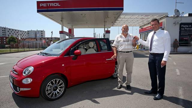Fiat 500 iz nagradne  igre Petrola otišao je u Koprivnicu