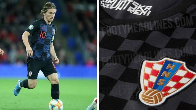 Opet u crnom: Je li ovo novi rezervni hrvatski dres za Euro?