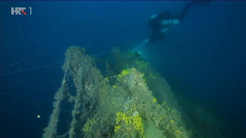 Našli njemačku podmornicu potopljenu u I. svjetskom ratu