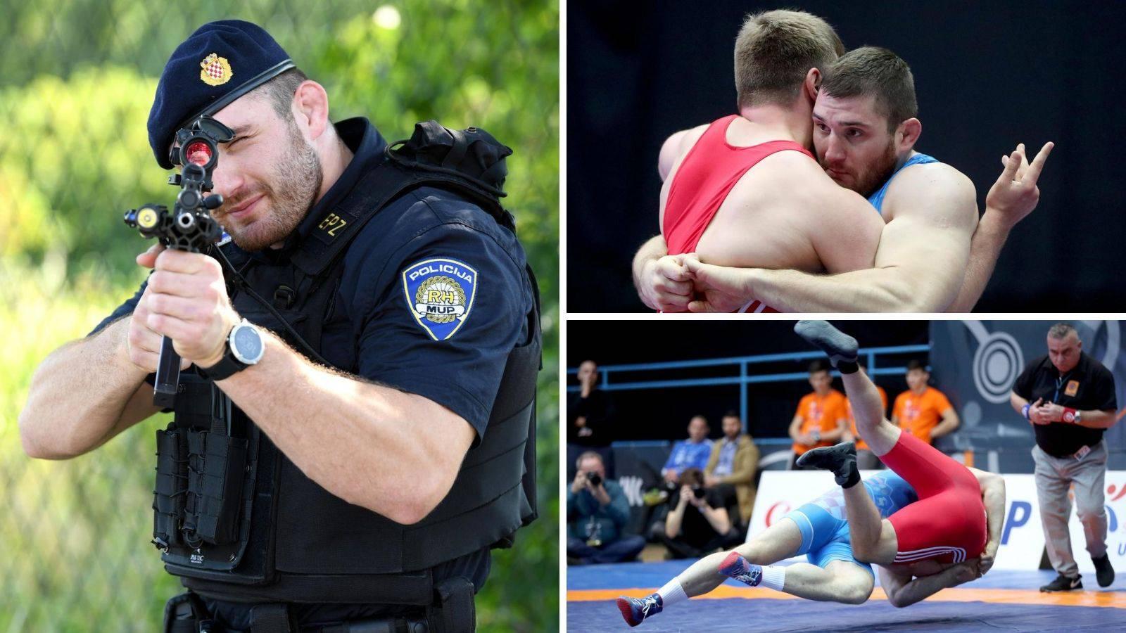 Specijalac na strunjači: Prvak sam u hrvanju i opaki policajac