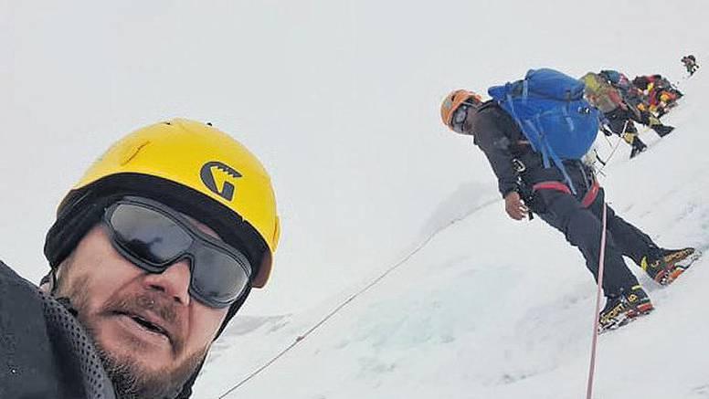 Pokorio Mount Everest: Mario je šesti Hrvat na krovu svijeta