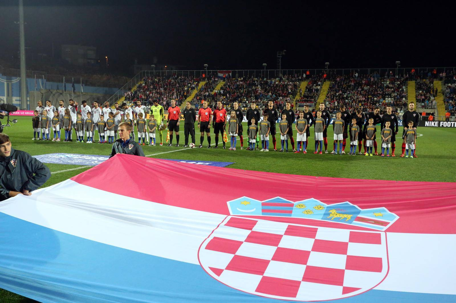 Rijeka: Susret Hrvatske i Jordana u prijateljskoj utakmici