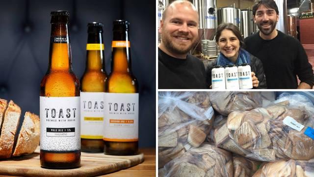 Proizvode pivo od kruha koji bi završio u smeću - i odlično je