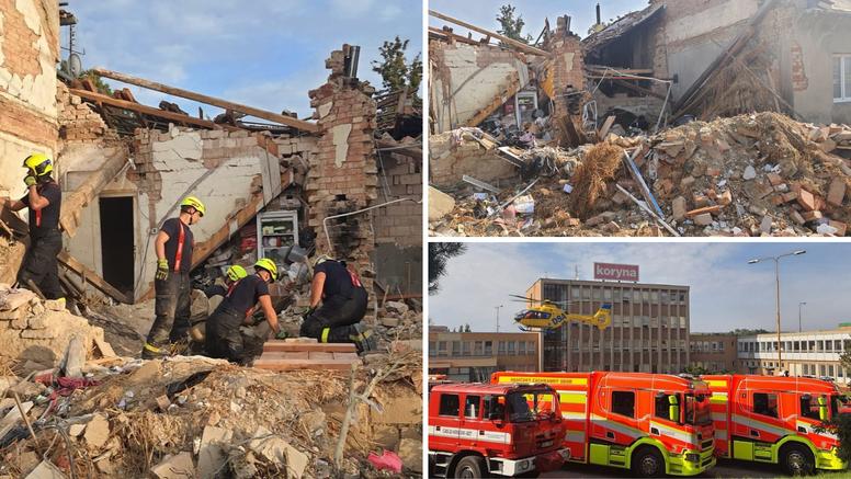 Tragedija u Češkoj: Poginula dvojica vatrogasaca u eksploziji