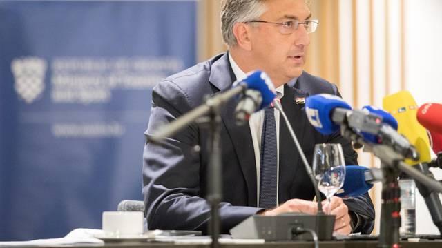 Plenković na sastanku s predstavnicima turističkog sektora u Opatiji