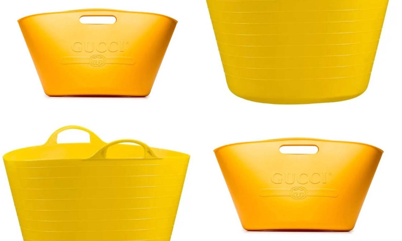 Guccijeva torba za 5600 kuna podsjeća na košaru za rublje