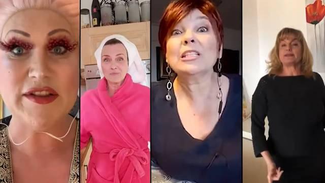 Zvijezde 'Menopauze' snimile su pjesmu o kilama u karanteni