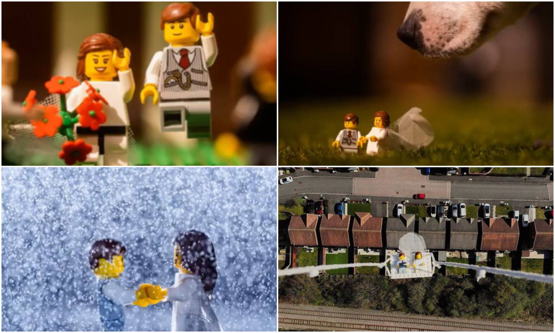 Fotograf je napravio vjenčanje za Lego figure i sve je snimio