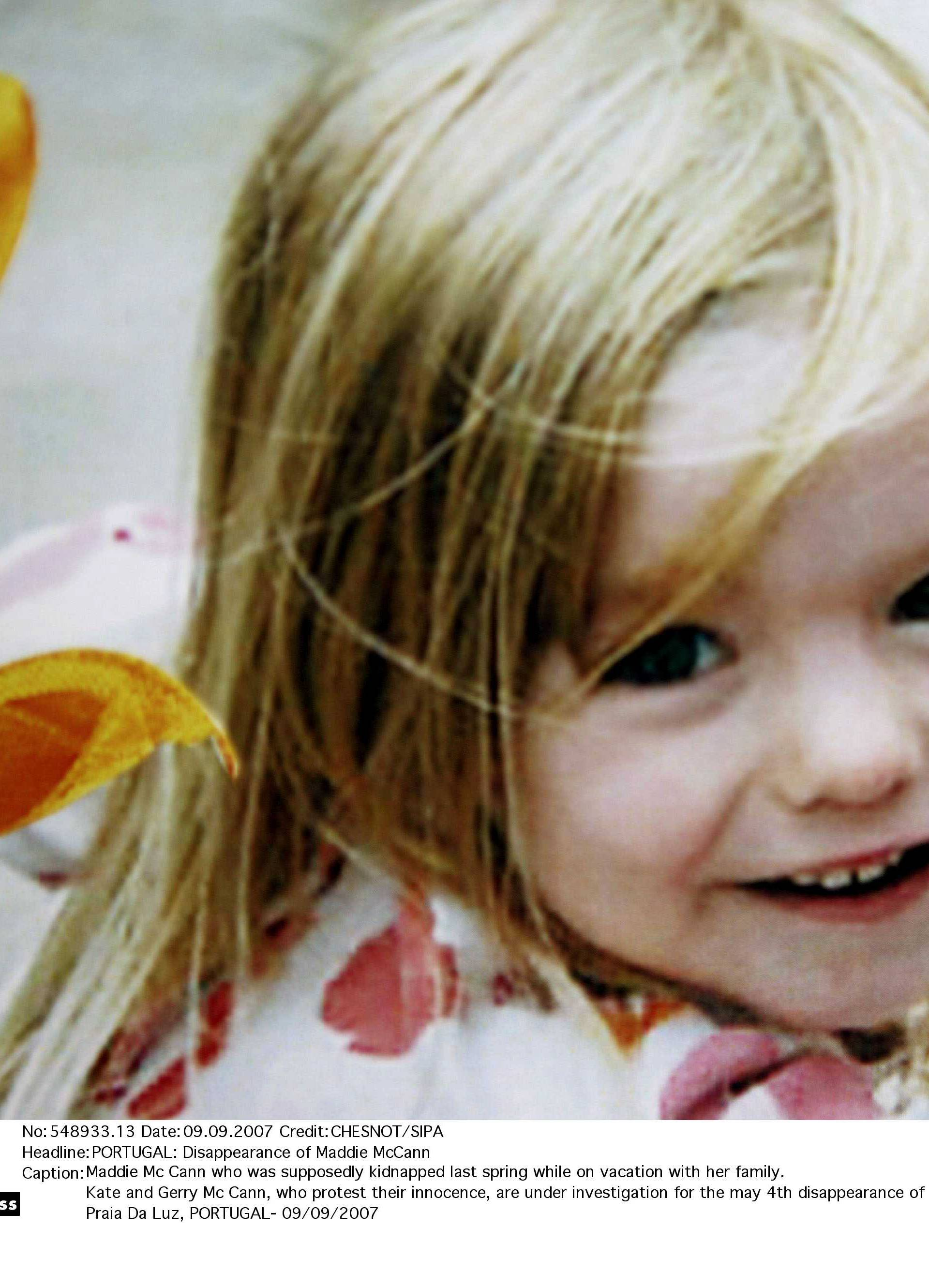 PORTUGAL: Disappearance of Maddie McCann