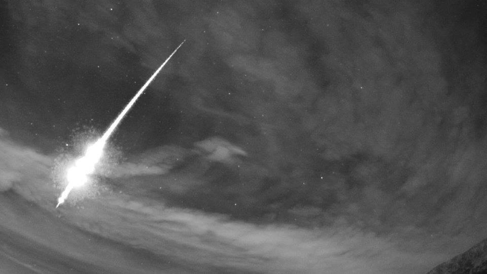 'Do sada smo snimili stotinjak, ali ovaj meteor je najsjajniji...'