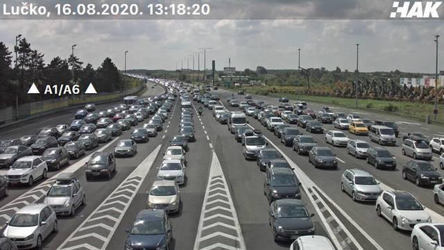Prometna nesreća na autocesti Zg-Macelj, nastala duga kolona