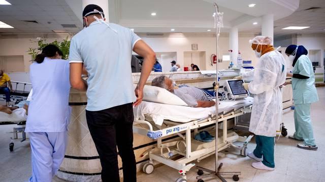 Emergency room of Mongi Slim hospital - Tunisia
