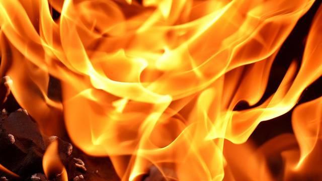 Pohvalili policajca: Sam ugasio požar koji je zaprijetio kućama